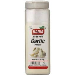 Badia Garlic Powder 16oz (453.6g)