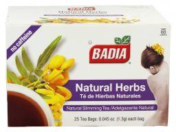 Badia Natural Herbs Tea - 25stuks