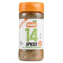 Badia 14 Spices All Purpose Seasoning 4.25oz (120.5g)
