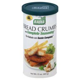 Badia Breadcrumbs Complete Seasoning 15oz (425g)