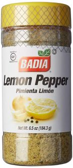 Badia Lemon Pepper 6.5oz (184.3g)
