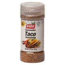 Badia Taco Seasoning 2.75oz (78g)