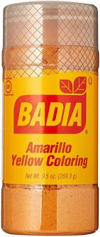 Badia Yellow Coloring 9.5oz (269.3g)