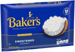 Bakers Angel Flake Coconut 14oz (396g)
