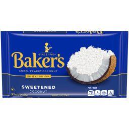 Bakers Angel Flake Coconut 7oz (198g)