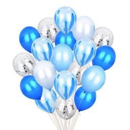 Balloon Set Blue - 20 stuks