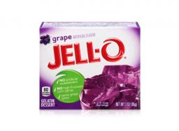 Jello Gelatin Grape Powder 85gr