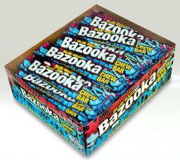 Bazooka Chew Blue Razz - 1 stuk