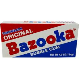Bazooka Bubble Gum 4.0oz (114g)