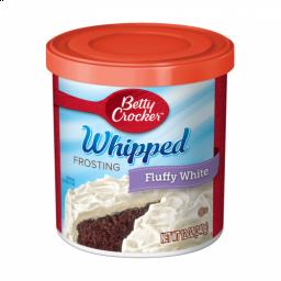 Betty Crocker Frosting Whipped Fluffy White 12oz (340g)