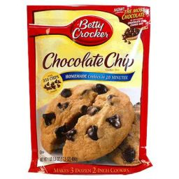 Betty Crocker Chocolate Chip Cookie Mix 17.5oz (496g)