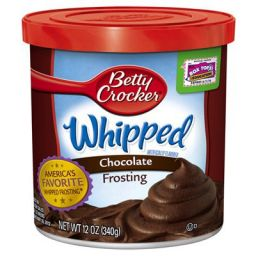 Betty Crocker Frosting Whipped Chocolate 12oz (340g)