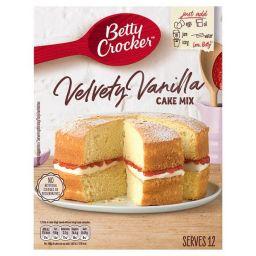 Betty Crocker Velvety Vanilla Cake Mix 15oz (425g)