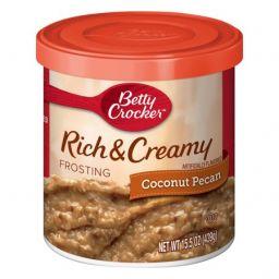 Betty Crocker Frosting Rich & Creamy Coconut Pecan 16oz (453g)