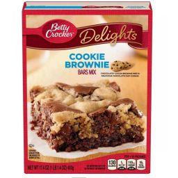 Betty Crocker Cookie Brownie bars Mix 17.4oz / 439g