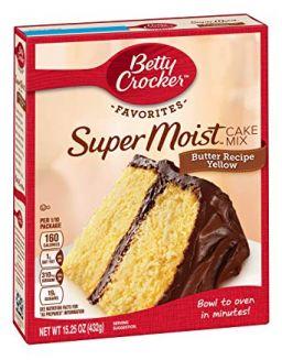 Betty Crocker Super Moist Butter Recipe Cake Mix 432gr