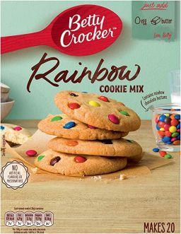 Betty Crocker Rainbow Cookie Mix 495g