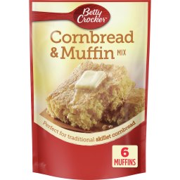 Betty Crocker Cornbread Muffin mix 6.5oz (184g)