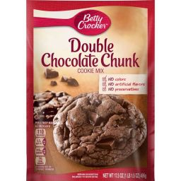 Betty Crocker Double Chocolate Chunk Cookie Mix 17.5oz (496g)