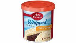 Betty Crocker Frosting Whipped Buttercream 12oz (340g) DATUM