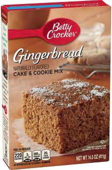 Betty Crocker Gingerbread Mix 14.5oz (411g)