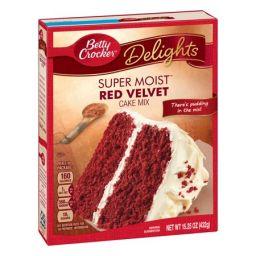Betty Crocker Super Moist Red Velvet Cake Mix 432gr