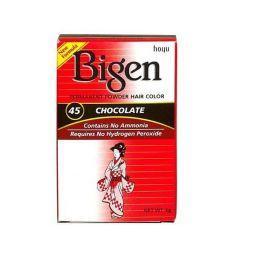 Bigen Permanent Powder Hair Color #45 Chocolate 6g