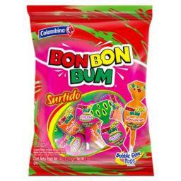 Bon Bon Bum Lollipops Surtido 24stuks