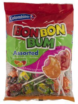 Bon Bon Bum Lollipops Assorted 48stuks