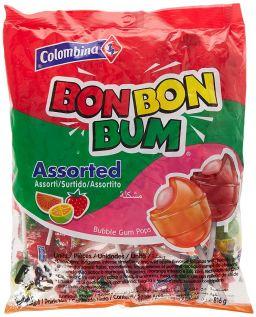Bon Bon Bum Lollipops Surtido 48stuks