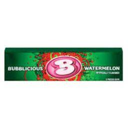 Bubblicious Watermelon 1stuks