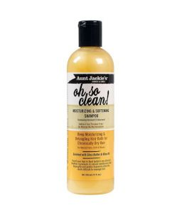 Aunt Jackie's Oh So Clean Moisturizing & Softening Shampoo 12oz (355ml)