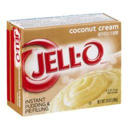 Jello Instant Pudding Coconut Cream 96gr
