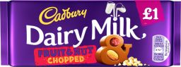 Cadbury Dairy Milk Fruit & Nut Chopped 95gr