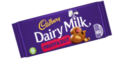 Cadbury Dairy Milk Fruit & Nut 3.9oz (110g)