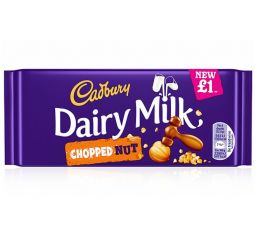 Cadbury Dairy Milk Chopped Nuts 3.35oz (95g)