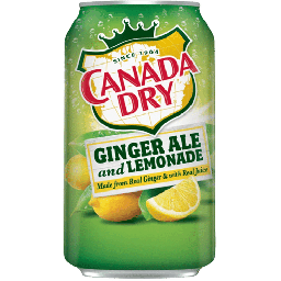 Canada Dry Ginger Ale and Lemonade 12oz (355ml)