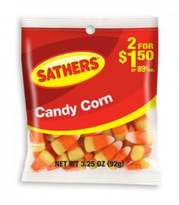 Sathers Candy Corn 4.25oz (120g)