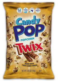Candy Pop Popcorn Twix 5.25oz (149g)