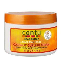 Cantu Shea Butter Natural Hair Coconut Curling Cream 12oz (340g)