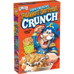 Captain Crunch Peanut Butter 12.5oz (355g)