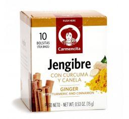 Carmencita Jengibre Con Curcuma y Canela 0.53oz (15g)