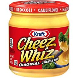 Kraft Cheez Whiz 15oz (425g)