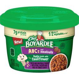 Chef Boyardee ABC's & Meatballs 7.25oz (205g)