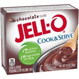 Jello Cook & Serve Pudding Chocolate 3.4oz (96g)