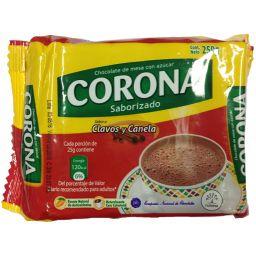 Chocolate Corona Clavos y Canela 8.8oz (250g)