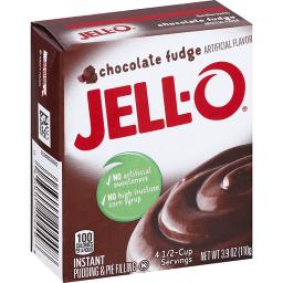 Jello chocolate fudge 3.9oz (110g)