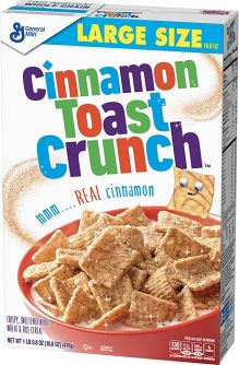 General Mills Cinnamon Toast Crunch 16.8oz (476g)