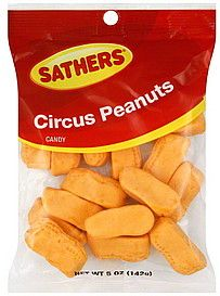 Sathers Circus Peanuts 71gr