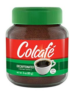 Colcafe Descafeinado coffee koffie 3oz (85g)
